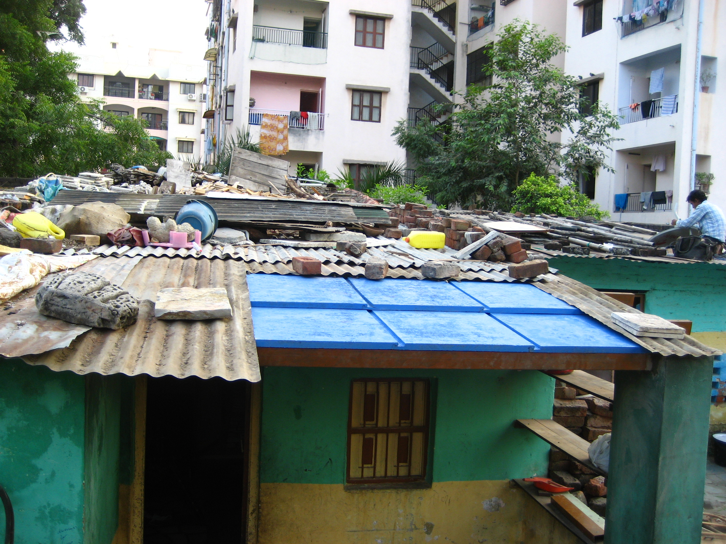 More Than 1 Billion People Are Currently Living In Slums Worldwide, And  This Figure Is Expected To Double By 2030. Existing Affordable Roofing  Options ...